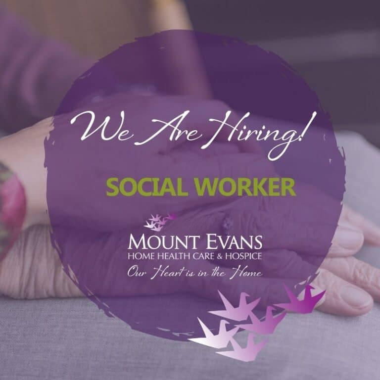 Mout Evans Seeks Experienced Social Worker Job Posting