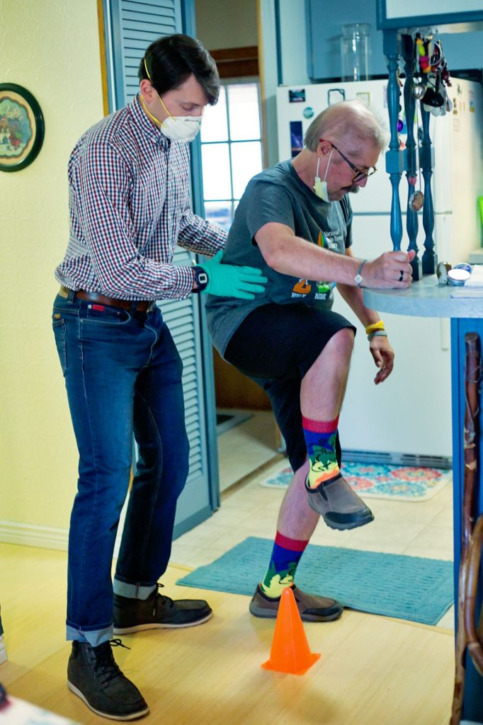 Don rehabs with Mount Evans Physical Therapist