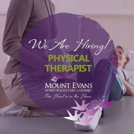 Mount Evans Hiring a Physical Therapist