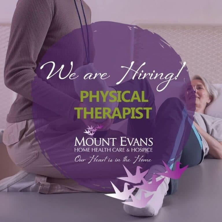 Now Hiring Physical Therapists