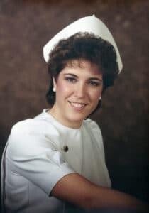 Keri Jaeger's Nursing Graduation Photo