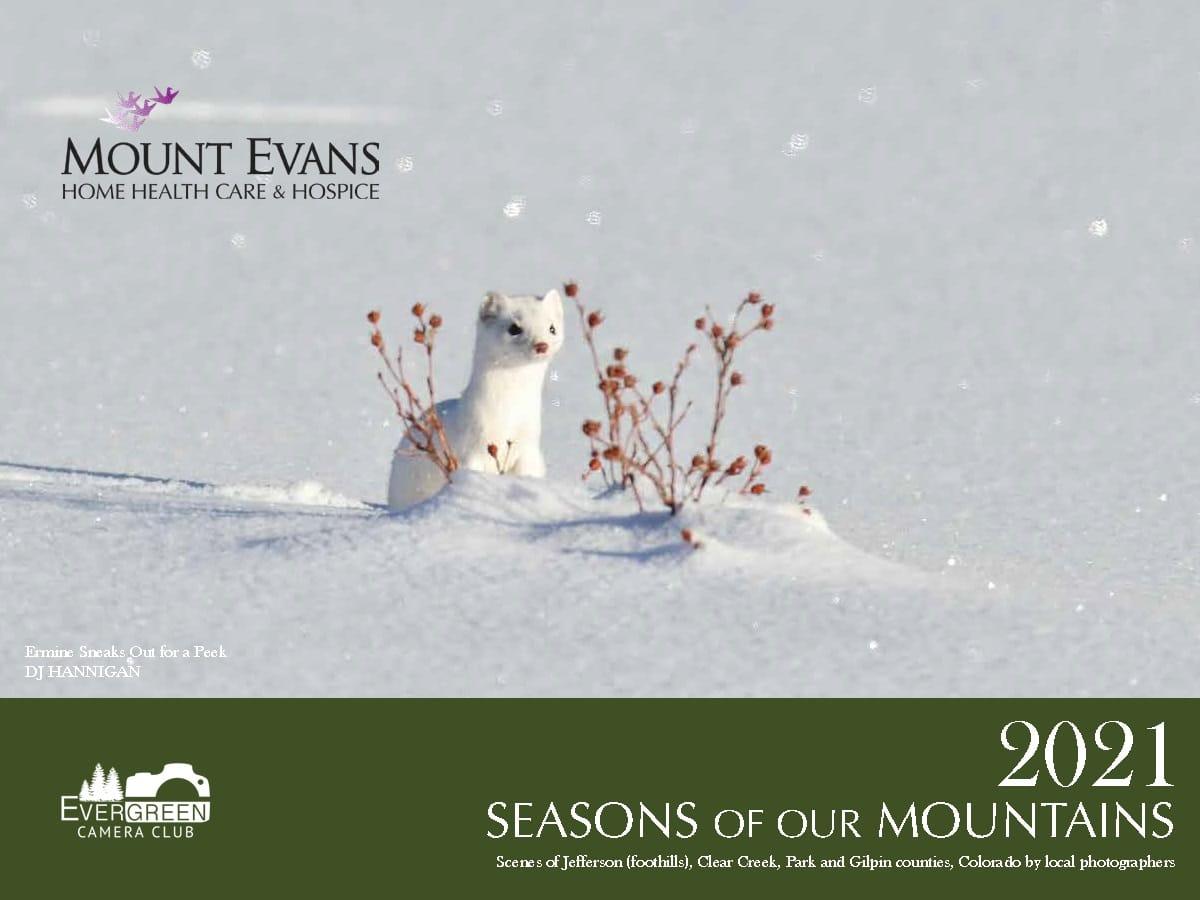 2021 Seasons of Mountains Calendar Cover