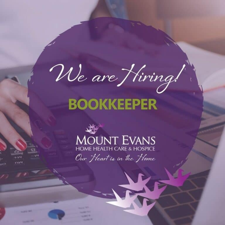 Bookkeeper Position at Mount Evans