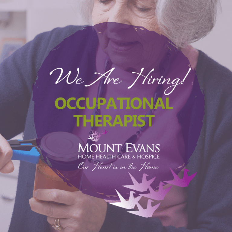 Mount Evans Hiring PRN Occupational Therapist