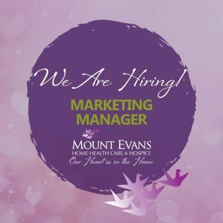 Job Posting Marketing Manager