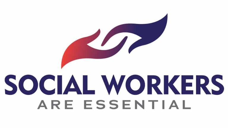 Social Workers are Essential logo