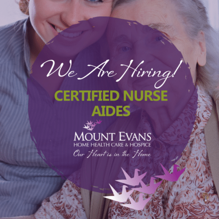 Mount Evans Hiring Certified Nurse Aides - CNAs