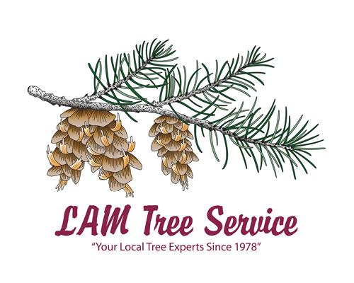 LAM Tree Service sponsor logo
