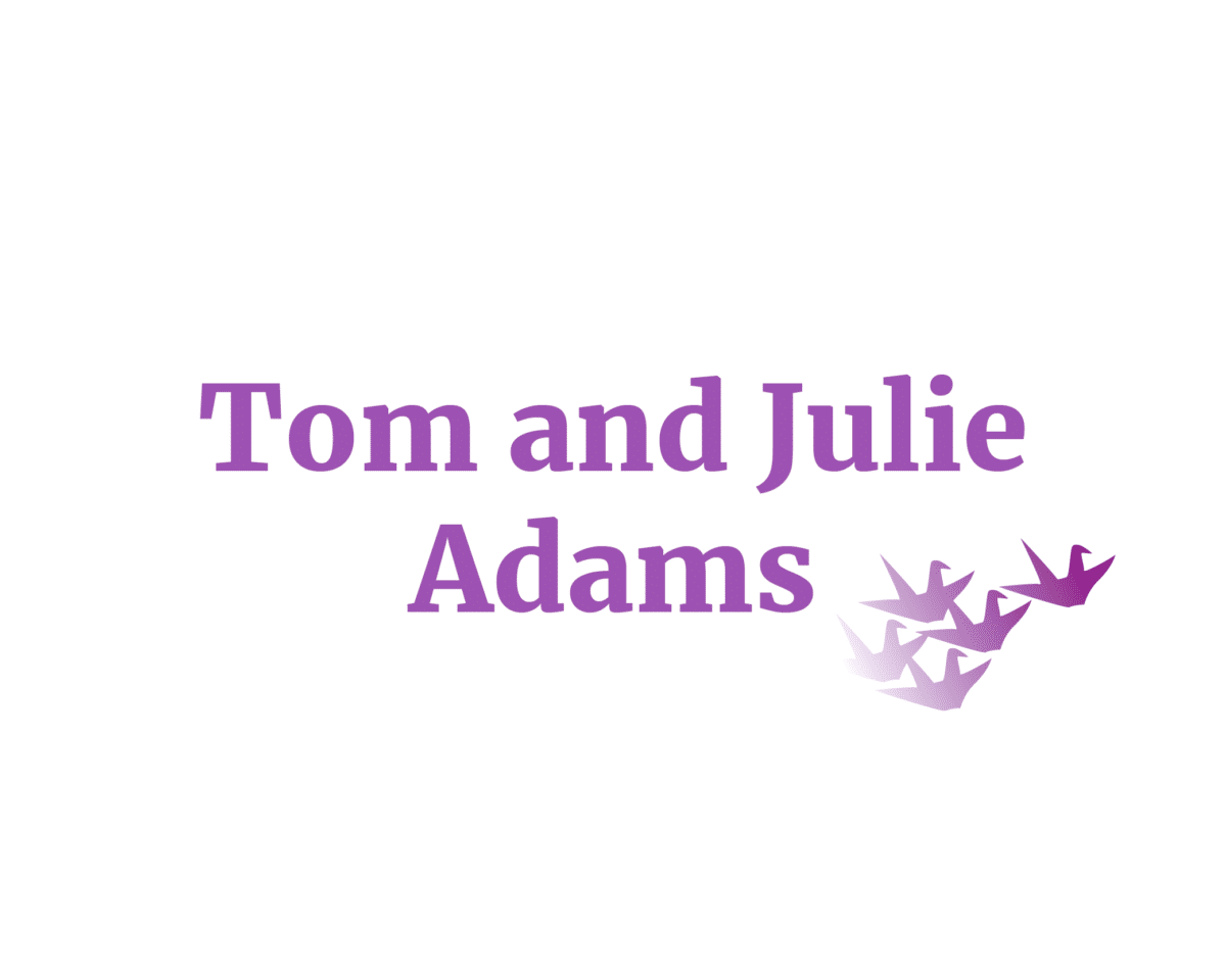 Tom and Julie Adams sponsor logo