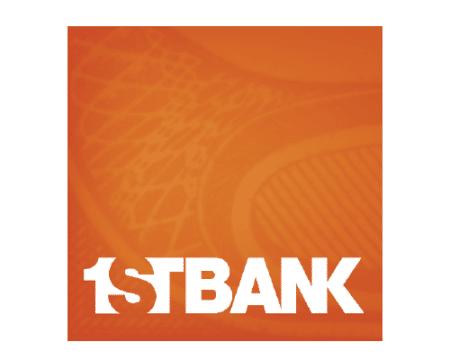 1st Bank sponsor logo