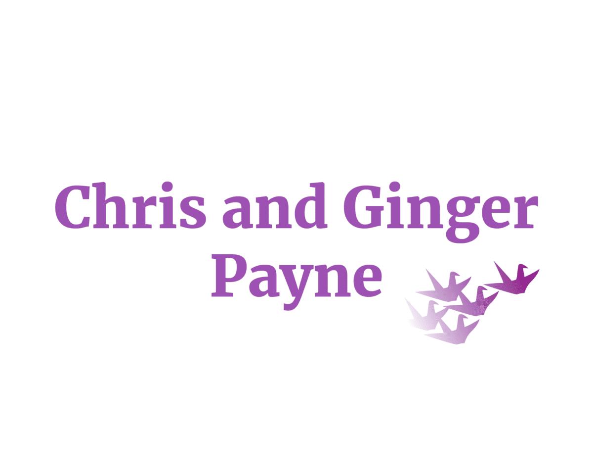 Chris and Ginger Payne sponsor logo