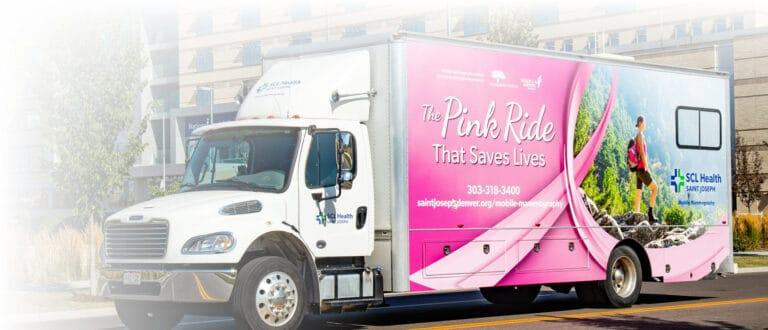 Saint Joseph Mobile Mammography Van