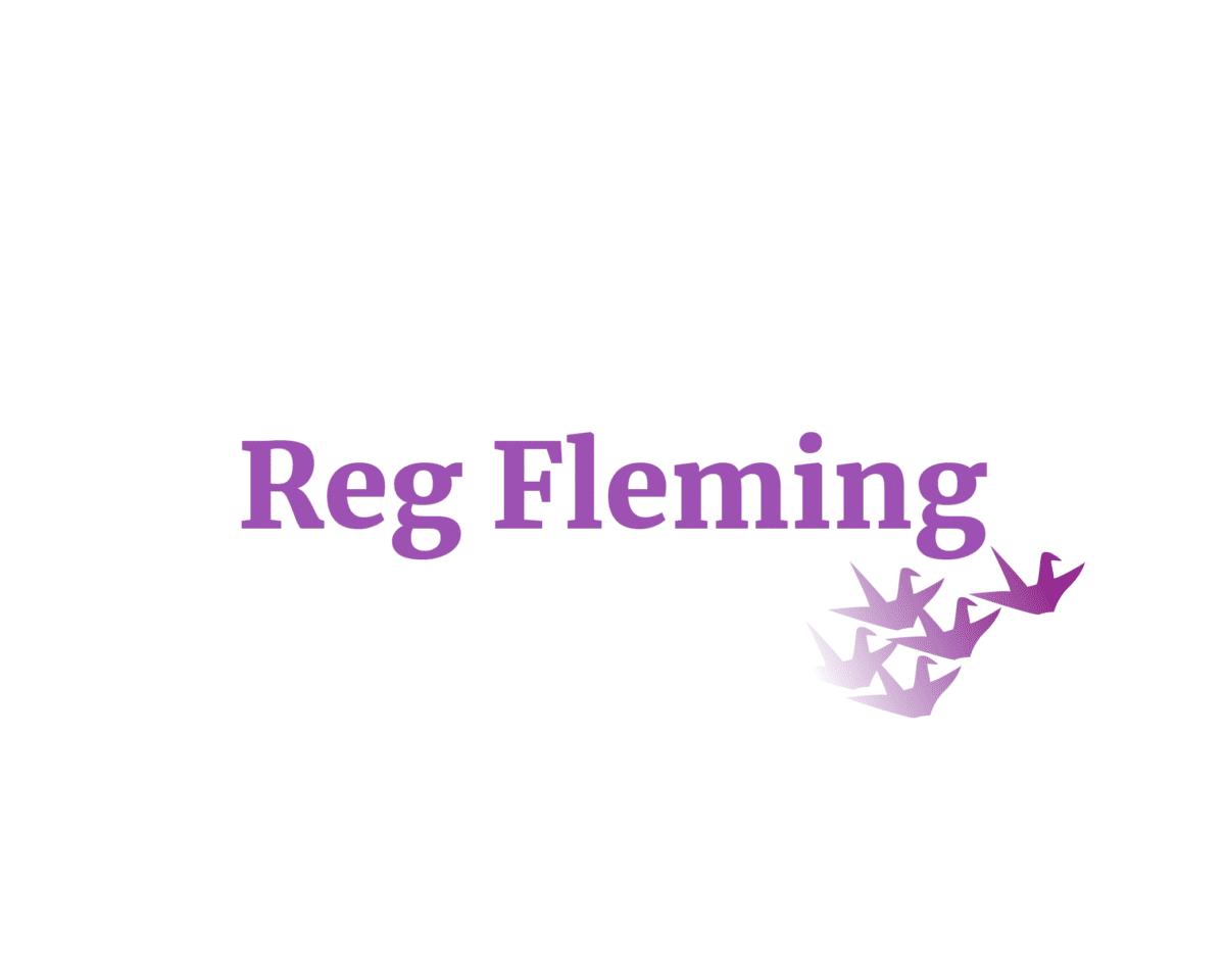 Reg Fleming sponsor logo