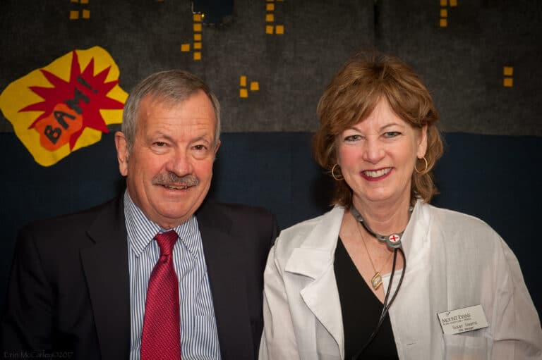 Susan Stearns and Frank O'Loughlin