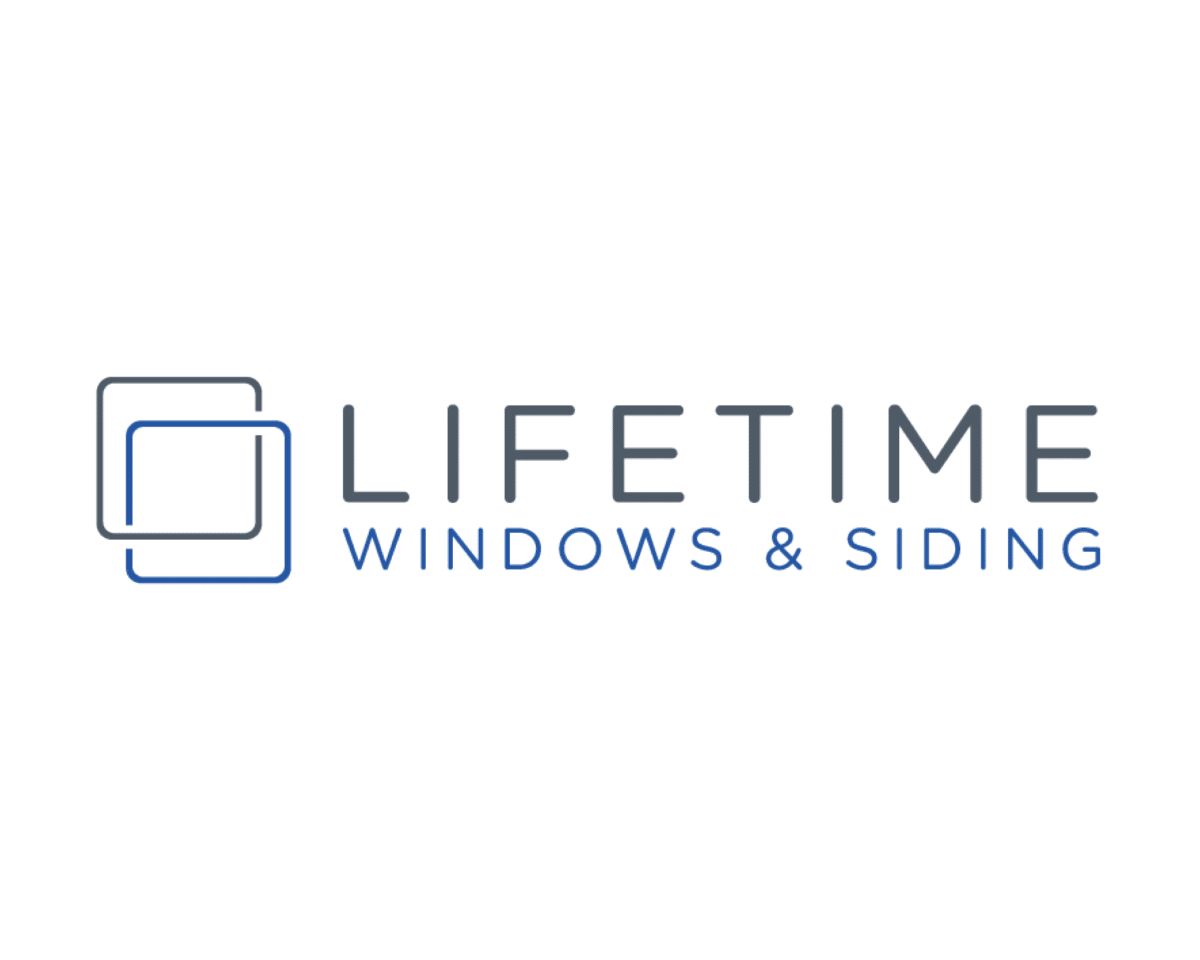 Lifetime Windows & Siding sponsor logo