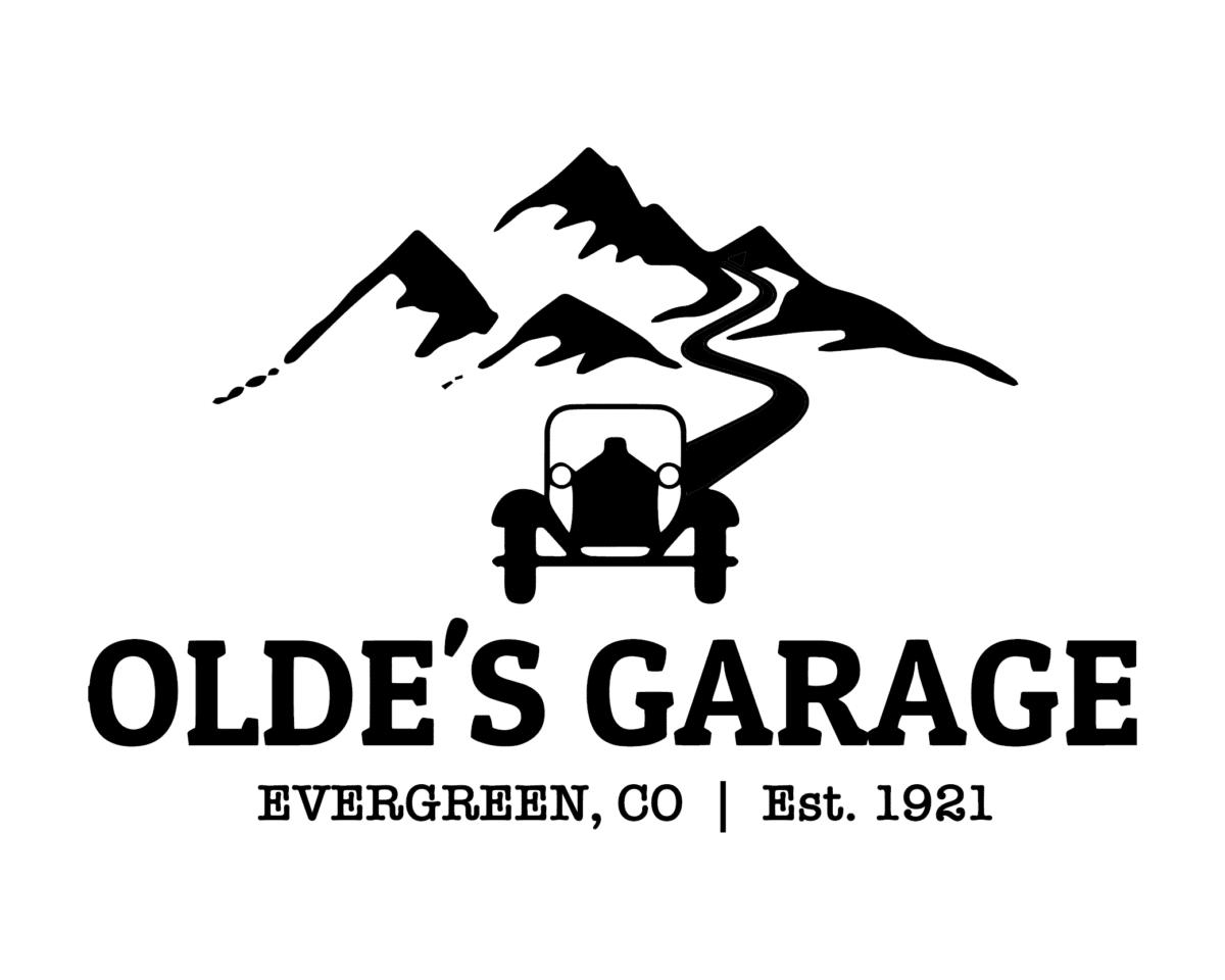 Olde's Garage sponsor logo