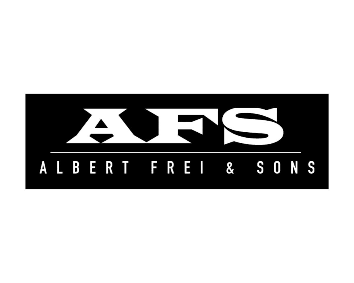 Albert Frei & Sons sponsor logo