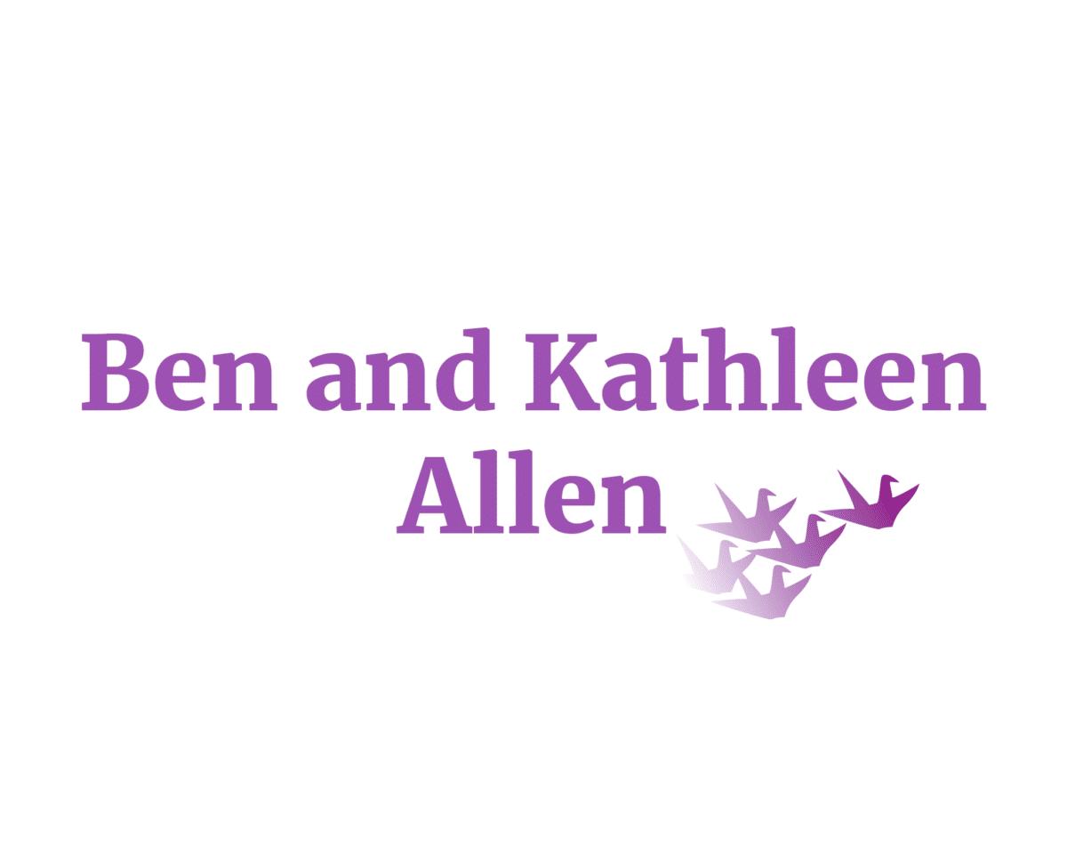 Ben and Kathleen Allen sponsor logo