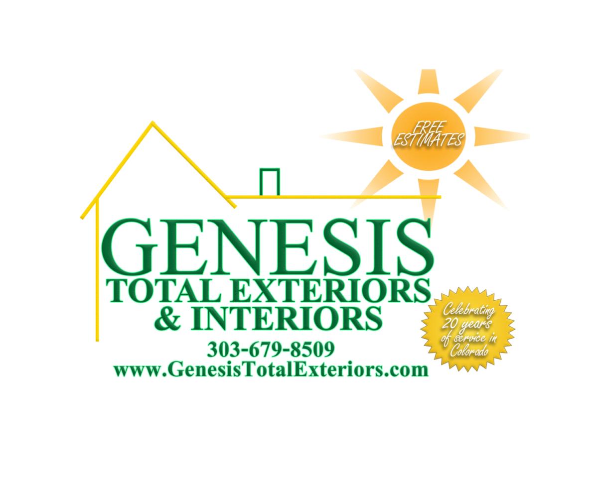 Genesis Total Exteriors & Interiors sponsor logo