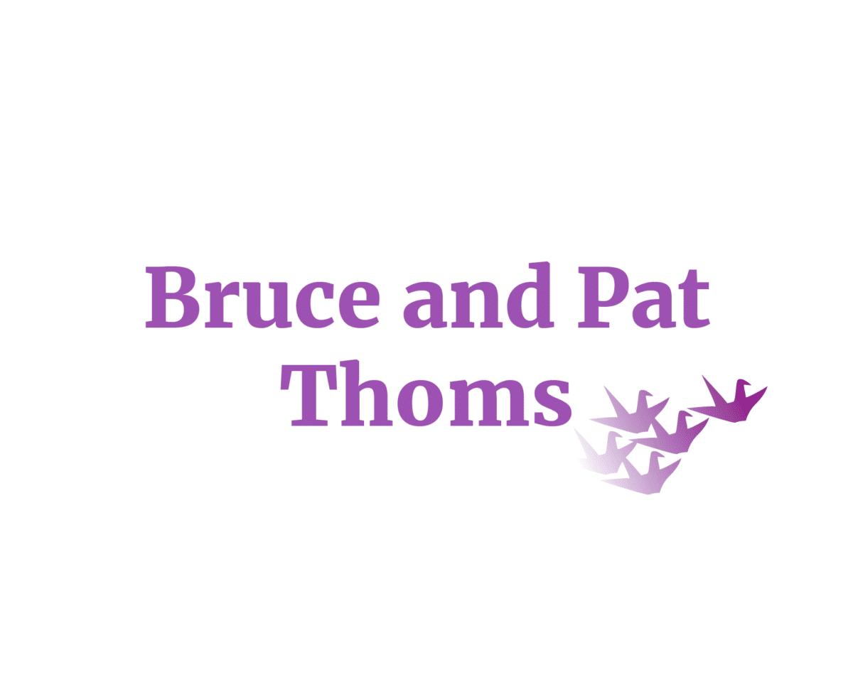 Bruce and Pat Thoms sponsor logo