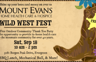 Join us for the Wild West Fest on Saturday, September 18!