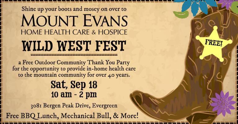 Wild West Fest - September 18, 2021