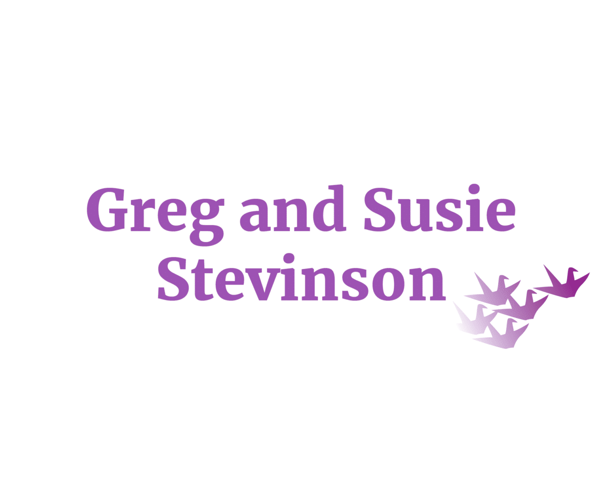 Greg and Susie Stevinson sponsor logo