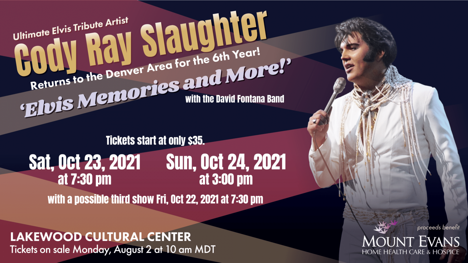 Cody Ray Slaughter Concert graphic