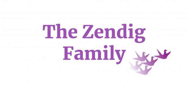 The Zendig Family sponsor logo